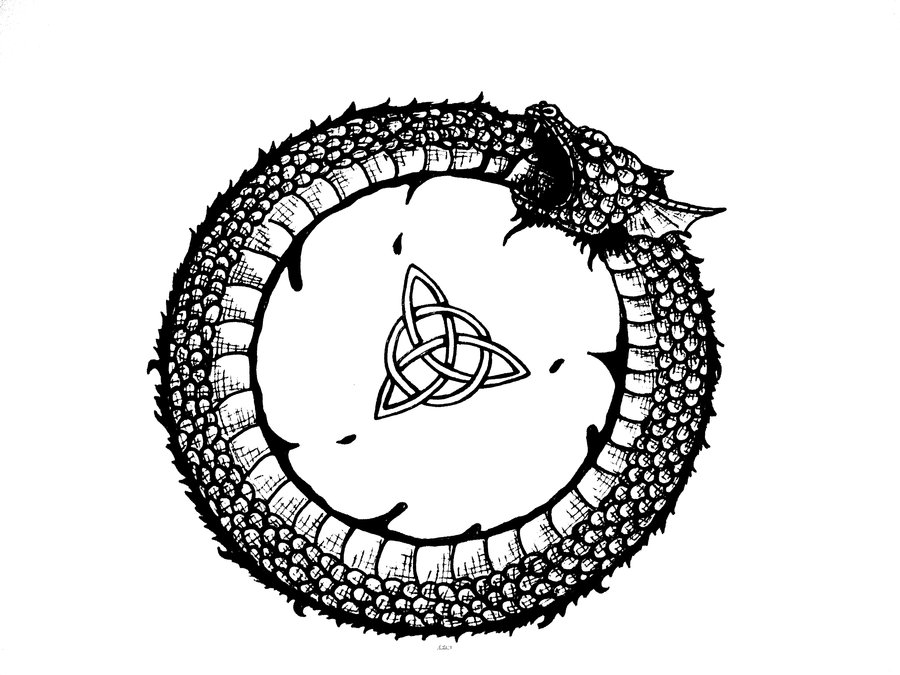 Ouroboros Drawing Pic