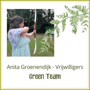 Green Team: Anita Groenendijk