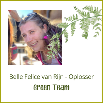 Green Team: Belle Felice van Rijn