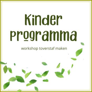 Kinderprogramma: workshop toverstaf maken