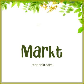 Markt: stenenkraam