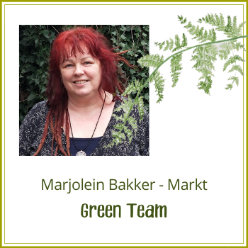Green Team: Marjolein Bakker