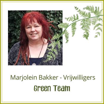 Green Team: Marjolein Bakker
