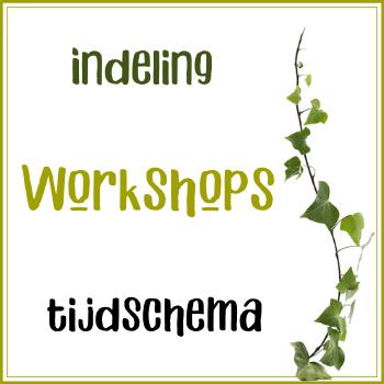 Workshoprondes: Tijdschema